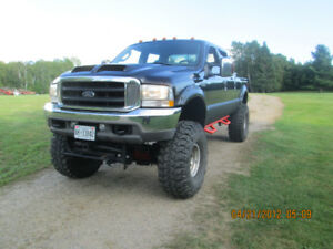 2004 Ford F-250 black Pickup Truck
