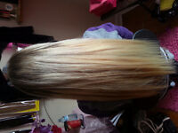 HAIR EXTENSIONS DONE TODAY, CALL OR TEXT