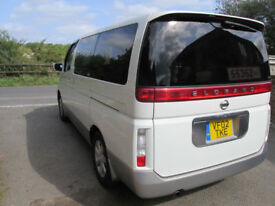 2002 Nissan ELGRAND , 4X4 , 3.5 PETROL AUTO , HIGH SPEC , IMMACULATE