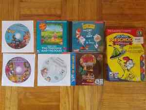 6 Kids Preschool Learning Video Games & Living Books