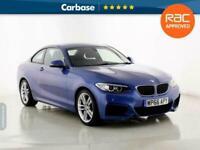 2016 BMW 2 Series 218i M Sport 2dr [Nav] Step Auto COUPE Petrol Automatic