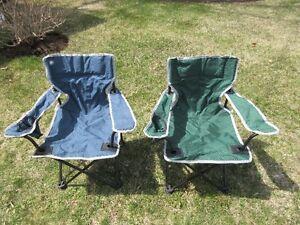 2 chaises pour enfant $5.00 chacune