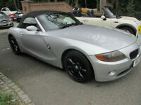 2003/53 BMW Z4 2.5 Roadster , SILVER / BLACK LEATHER