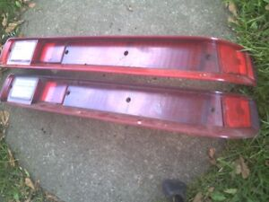 LQQK  A SET 1970 GTO / LEMANS TAIL LIGHTS GREAT COND