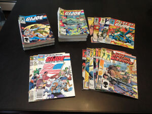 GI JOE A Real American Hero - comic book lot - 69 issues!