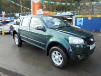 2012 62 GREAT WALL STEED 2.0 TD S 4X4 PICK UP IN GREEN # LOW MILEAGE EXAMPLE #