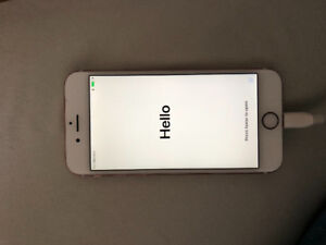 iPhone 6s 128g. Unlocked, rose gold, excellent condition.