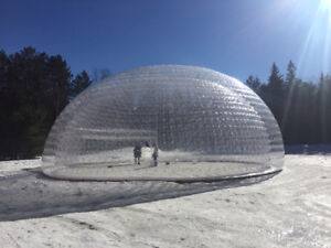 Event tent / Inflatable / Dome / Snow Globe / Party Tent / Clear