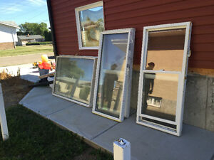 Selling new windows and kitchen cupboards