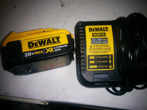 Dewalt 20 battery and charger