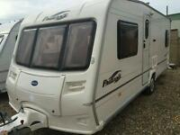 Bailey pageant bordeaux fixed bed 2006 touring caravan