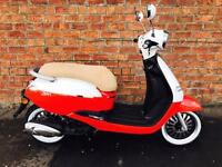 NEW Euro4 Sinnis Zen 125 learner legal own this scooter for only £12.74 a week