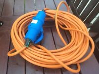 Electric Hook up lead for Caravan or Camping
