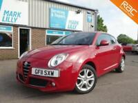 2011 Alfa Romeo MiTo 1.4 16V ( 95bhp ) 2015MY Sprint RED ONLY 69,000 MILES
