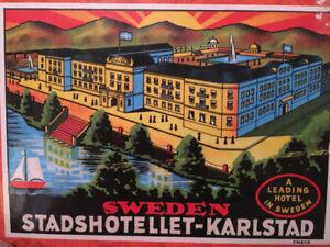1000 piece jigsaw puzzle of the Stadshotellet-Karlstad in Sweden