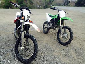 2010 husqvarna wr125 street legal enduro mx bike