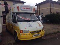 Ford transit ice cream van