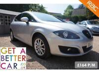 SEAT LEON 1.6 COPA SE TDI AUTOMATIC - 12 REG - 26K - £164PM - NO DEPOSIT FINANCE