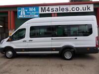 Ford Transit 125ps,17st minibus,tacho