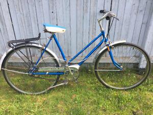 Vélo vintage pour femme