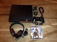 Playstation 3 Ps3 160gb Head Set , 1 controller & Destiny
