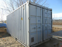 20 foot new seacan containers