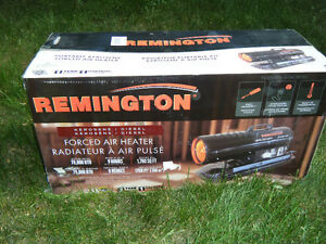 Brand new never opened Remington 70,000BTU kerosene/diesel heate