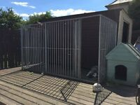 *UPDATED PLEASE READ* Extra Large Galvanised Dog Run
