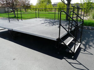 StageRight Stage Deck System Complete For  Sale