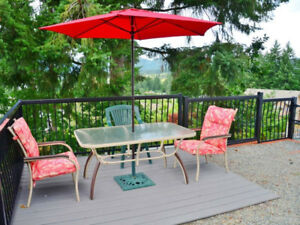 2 bedroom with 1 den home for rent - gorgeous view ( Duncan,BC)