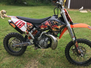 2010 KTM 65 Motocross bike