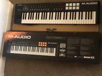 M-Audio Oxygen 61 USB MIDI controller
