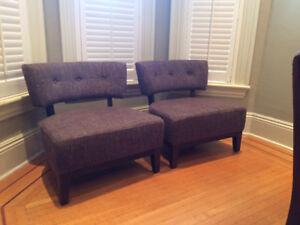 Retro Accent Chairs