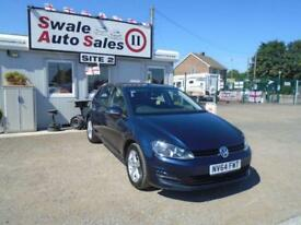 64 VOLKSWAGEN GOLF 1.6 MATCH TDI BLUEMOTION TECHNOLOGY DIESEL - 43042 MILES