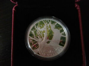 RCM 2013 $20 Fine Silver Coin - Canadian Maple Canopy (Spring)