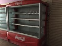 Coca-Cola display retail fridges cheap must go