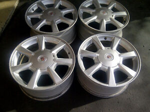 CADILLAC CTS 2009 FACTORY 17 INCH ALLOY RIM SET OF FOUR
