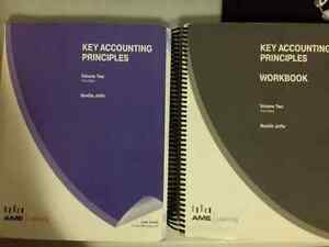 Used textbooks: Key Accounting Principles Volume Two & workbook