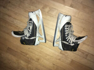 baeur supreme 1.7 goalie hockey skates for sale