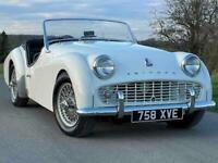 1960 Triumph TR3A *freshly restored* manual OD