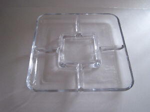thick glass serving trays, thick glass beer mugs