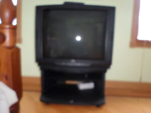 """32"""" JVC Television & Stand"""