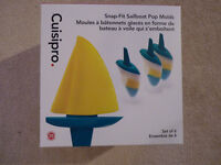 Cuisipro Snap-Fit Sailboat Pop Molds