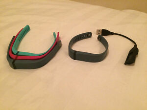 Fitbit Flex with extra clip and coloured bands!