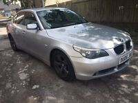 BMW 530D SE M SPORT FULL GREY HEATED LEATHER I DRIVE AND PARKING AID 2005