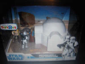 STAR WARS Disturbance At Lars Homestead Playset