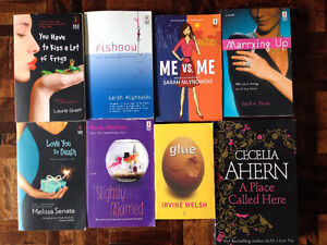 8 Young Adult Novels - PERFECT CONDITION