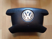 VW T5 Transporter airbag and steering wheel