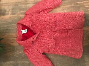 Girls 12-18 months pea coat winter jacket fall Old Navy