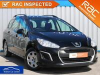 Peugeot 308 1.6 Hdi Sw Access 2012 (62) • from £22.41 pw